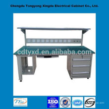 2014 newest oem steel workbench with drawers, lights and sockets
