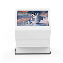 Shopping mall indoor floor stand touch LCD screen Windows media 55 inch digital signage player