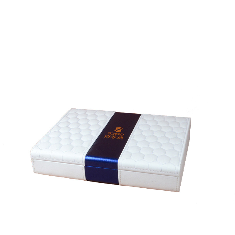 Pu Cover Clamshell Rigid Gift Box