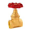 Brass Gate Valve, Full Port, Threaded Ends