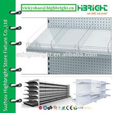 transparent clear acrylic shelf divider for retailing racks