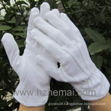 100% Cotton Gloves Cotton Driver Gloves Work Glove