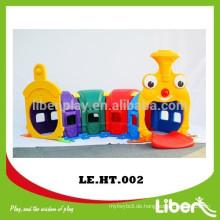 Caterpillar Cartoon geformte Klettern Spielzeug / Kinder Indoor Kunststoff Spielzeug