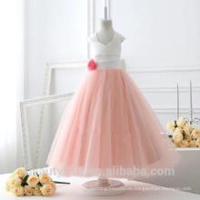 Vestido de novia exclusivo para niños y vestido de fiesta transpirable ED623
