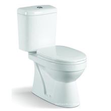 Санитарные изделия Высокое качество стирки двух частей керамический туалет (6821)