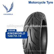 pneu tubeless 140/70-18 avec la qualité