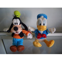 licence character plush toys
