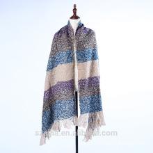 Mantón de poncho de invierno confeti para señoras