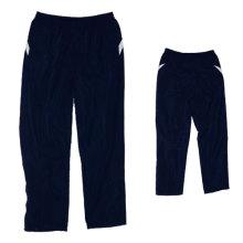 Tecido de poliéster moda masculina calças de design para a formação