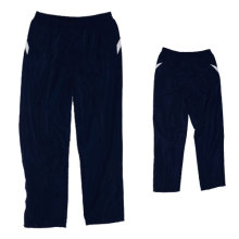 Yj-3006 Lined Blue Microfiber Sports Pants Sweatpants for Men