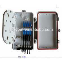 Plastic Shell 8 port 16 port FTTH Terminal Box with pigtail