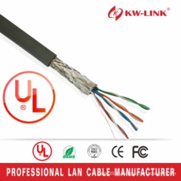 Cable trenzado Cat5e, 24AWG FTP Cable Cat5e