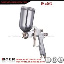 Pistola de pulverização de alta pressão W-100G do revestimento da mobília da arma de pulverizador