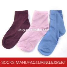 100% Seide Solid Color Sock für Frauen (UBS-002)