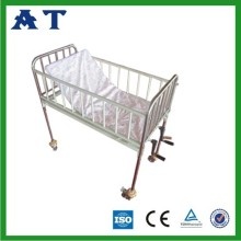 double Crank Stainless Steel Pediatric bed