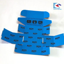Caja de papel acanalada colorida personalizada de la ropa del bebé de la impresión