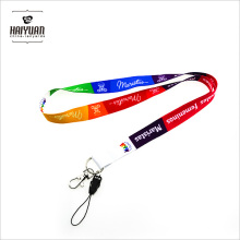 Promotional Dye Sublimation Printing Lanyard in Smooth Polyester
