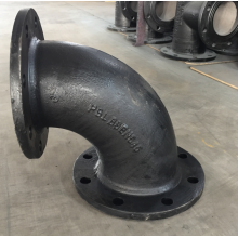 Ductile Iron Flanged  90  Pipe Fittings
