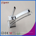 Fyeer Chrome Original Colorful Glass Spanner Style Single Handle Bathroom Wash Brass Basin Faucet Water Mixer Tap