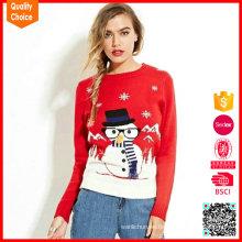 2016 nueva llegada hizo punto el suéter feo de la Navidad de los patrones