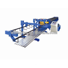 Steel plate cutting machine for Floor decking