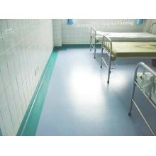 Suelo barato del PVC / del vinilo comercial, hospital del PVC