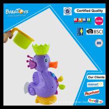 Engraçado cavalo mar brinquedo brinquedos de banho do bebê
