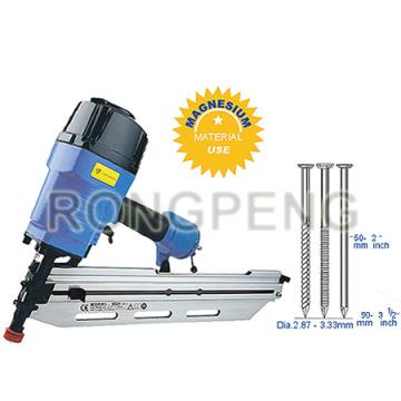Rongpeng RP9518-2 / Rhf9028 Herramientas de alimentación de clavadoras de cabeza redonda de 28 grados