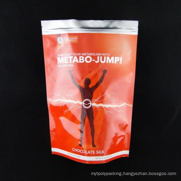Food Grade Albumen Powder Stand up Food Bag with Zipper