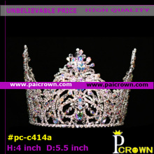 Smalll Colors Queen Pageant  Tiara Crown