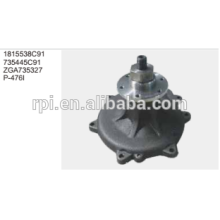 GENUINE AUTO WATER PUMP FOR TRUCK 1815538C91