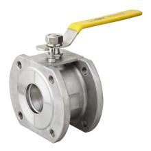 Válvula de esfera de aço 304 Tipo Wafer Novo