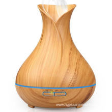 400ml Wood Grain Aroma Diffuser Humidifier