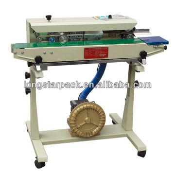 DBF-1000G gas de continuidad a ras de la máquina de sellado de la bolsa