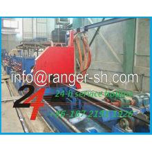 Equipamento completo para soldagem de tubos de aço em forma redondo/quadrado/deformado