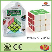 Cubos mágicos educativos del rompecabezas del plástico 3D YJ barato Guanlong modificado para la promoción