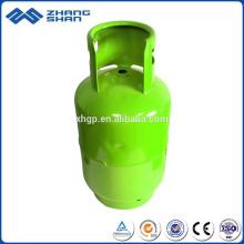 Tipos de cilindro de gás de oxigênio sem costura industrial de alta pressão