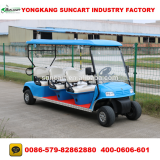 6 seater cheap used golf carts for sale,blue color electric golf carts,electric golf cart