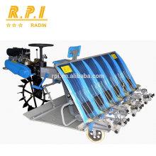Transplanteur de riz à 6 rangées de moteurs à essence (type à conduite)