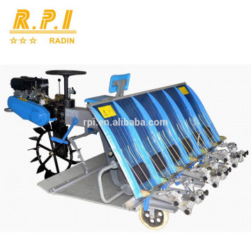 Gasoline Engine Driven 6 Rows Rice Transplanter ( Riding Type )