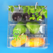 OEM Fruit Gift Box with Color Printing (folding fruit basket)