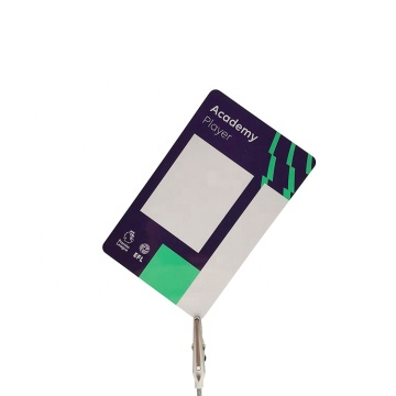 Kundenspezifische CR80 Kunststoff PVC Druckkarte
