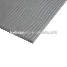Panneau de ciment de bardage de grain en bois naturel de l'épaisseur 9mm de haute qualité