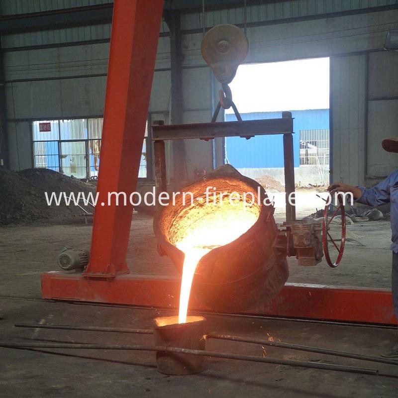 Fireplace Wood Burning Online Production