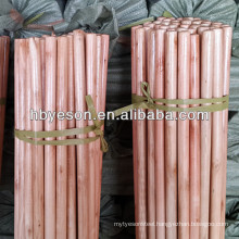 lacquered wooden broom stick wholesaler