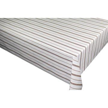 Elegant Tablecloth stripe design
