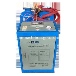 Low pressure portable poliuretan spray foam machine