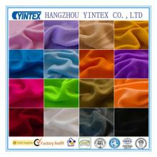 Tissu en polyester de couleur personnalisé