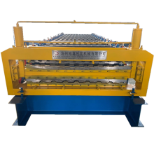 Trapezoidal Bumbung Double Layer Roll Forming Machine