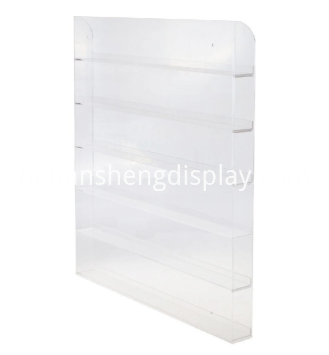 6 Layers Acrylic Nail Polish Rack
